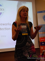 Monica Whitty Professor Of Psychology University Of Liecester at the 42nd international iDate conference for global dating professionals in London