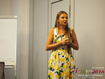 Svetlana Mukha - CEO of Diolli at the 45th Premium International Dating Business Conference in Limassol