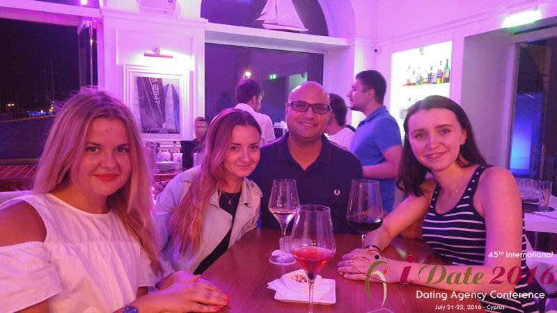 Anastatia Date Networking Вечеринка в Яхт-клубе на 45ой Международной Премиум конференции индустрии знакомств
