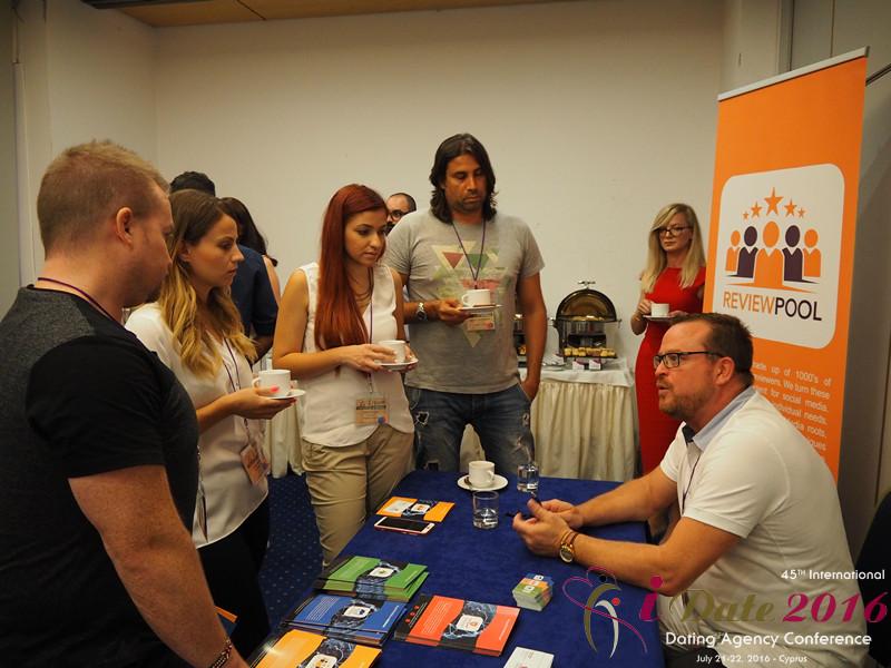 Vanguard Online Media - Спонсор 45ой iDate2016 конференции в Лимассоле, Кипр