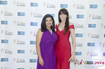 Damona Hoffman and Julie Spira  in Miami at the 2016 Online Dating Industry Awards