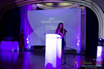 Jenny Gonzalez Presenting the Best Payment System Award at the 2016 iDateAwards Ceremony in Miami