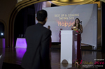 Svetlana Mukha Presenting the Best Up & Coming Dating Site Award at the 2016 Miami iDate Awards