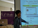 Takuya Iwamoto (Diverse-yyc-co-jp)  at the June 8-10, 2016 Mobile Dating Negócio Conference in Califórnia