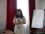 Elena Vygnanyuk at the 49th iDate Premium International Dating Business Trade Show