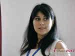 Elena Vygnanyuk at the iDate Dating Agency Business Executive Convention and Trade Show