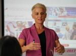 Olga Korsakova at the 49th iDate Dating Agency Business Trade Show